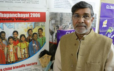 Nobel Prize winner Kailash Satyarthi on what the world needs more of