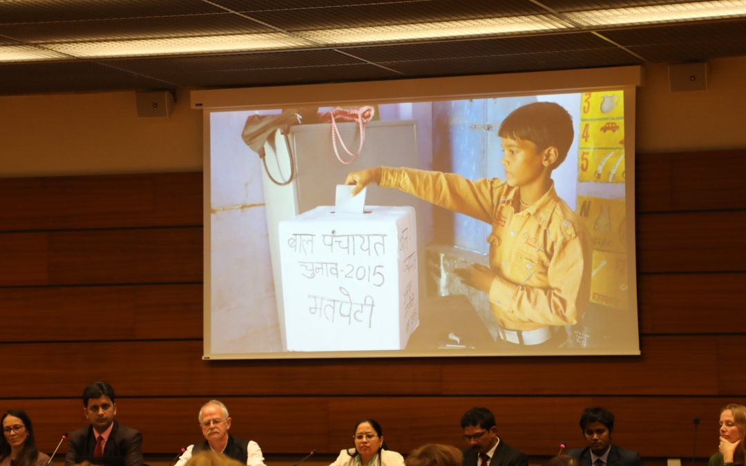 Kailash Satyarthi Children's Foundation Hosts Panel at UN Forum on Business and Human Rights Promoting a Child Friendly Mica Industry
