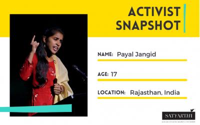 ACTIVIST SNAPSHOT: Payal Jangid