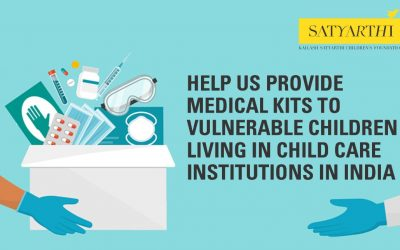 Help us provide medical kits to vulnerable children during COVID-19